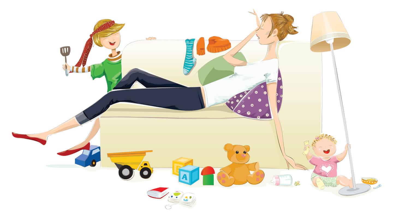 Yorgun ve Uykusuz Annelere Özel